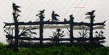 Art.Nr.: 6269ST - Pflanzenstecker Koppel mit Vögel