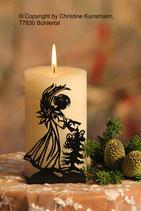 Art.Nr.: 6102K Kerzenständer Weihnachtsengel