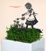 Art.Nr.: 6258ST - Pflanzenstecker Gärtnerin