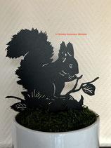 Art.Nr.: 6303ST - Pflanzenstecker Eichhörnchen