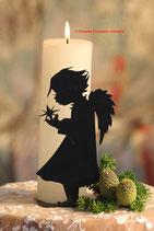 Art.Nr.: 6110K Kerzenständer Engel mit Stern