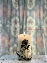 Art.Nr.: 6116K Kerzenständer Engel mit Herz