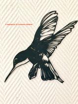 Art.Nr.: 9011W50 Wandbild Kolibri