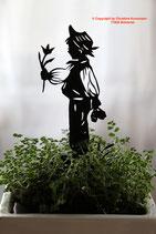 Art.Nr.: 6248ST - Pflanzenstecker Gratulant