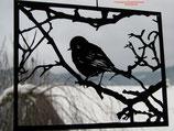 Art.Nr.: 8012F Fensterbild Vogel