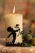 Art.Nr.: 6103K Kerzenständer Rosenkavalier