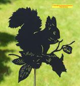 Art.Nr.: 6053G Gartenstecker Eichhörnchen