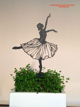 Art.Nr.: 6254ST - Pflanzenstecker Ballerina
