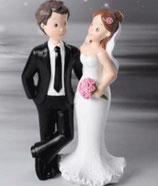 Sposi Sorriso in nero