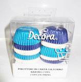 Pirottini azzurri blu e bianchi 200 pezzi