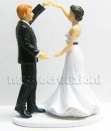 Sposi danzanti lei bruna