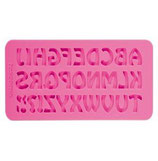 Stampo in silicone alfabeto