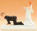 Sposo al guinzaglio