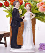 Sposi lei incinta