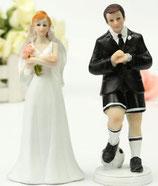 Sposi lui gioca a calcio