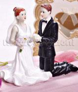 Sposi in ginocchio