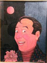 Pittura su tela Macario grande