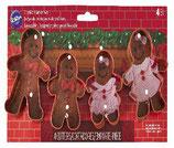 Set 4 tagliapasta famiglia ginger read