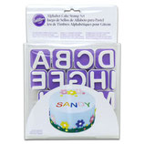 Cake stamp set alfabeto
