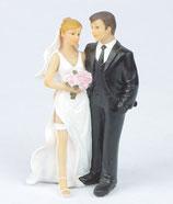 Sposa con giarrettiera