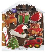 Set 7 tagliapasta fantasie del Natale