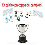 Kit calcio con coppa