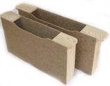 Futtertasche aus Holz