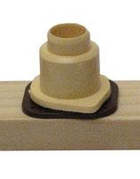 Nicot Einzelteile Weiselnapfhalter beige (10 Stück)