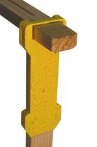 Erlanger Abstandhalter zum Aufstecken (für 25 mm Holz)