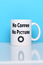 "Becher ""No Coffee  No Picture"""