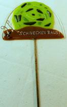 """Stecker """"Schnecken raus"""" ca 38cm"""