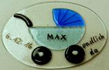 """Geburtsschild """"Max""""/""""Lisa"""""""