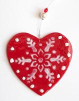 Herz rot/weiß
