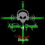 Doppelrelease CD Paket - Aliens Of Death & Recurrent Pain - Preorder - Release 14.09.2018