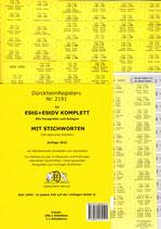 ***NEU *** 2021: EStG + EStDV-KOMPLETT STICHWORTE