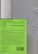 200 Folien für SCHÖNFELDER / STEUERGESETZE (o.a. rote Beck-Ordner) Nr. 1200
