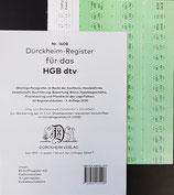 Griffregister HGB dtv - Nr. 1408