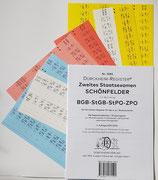 Paket Schönfelder-2. Staatsexamen:  BGB-StGB-StPO-ZPO (2021)- Nr. 3020