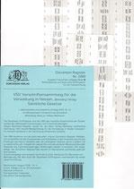 Griffregister VSV MECKLENBURG-VORPOMMERN Vorschriftensammlung f.d. Verwaltung (Boorberg) - Nr. 2283
