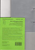 110 Folien für SCHÖNFELDER / STEUERGESETZE (o.a. rote Beck-Ordner) Nr. 542