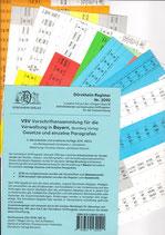 Griffregister VSV BAYERN Vorschriftensammlung f.d. Verwaltung (Boorberg) - Nr. 2092
