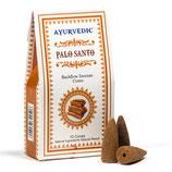 Ayurvedische Rückfluss/Weihrauchkegel - Palo Santo