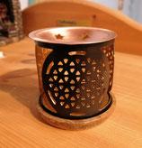 Duftlampe Blume des Lebens - schwarz
