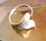 Ginkgoblatt Ring