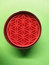 Ausstechform »Blume des Lebens« mit Auswerfer