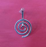 """Donuthalter """"Spirale"""" Silber - klein"""