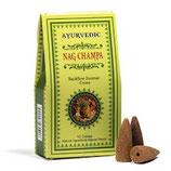 Ayurvedische Rückfluss/Weihrauchkegel - Nag Champa