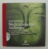 MEDITATION für ANFÄNGER - von Jack Kornfield