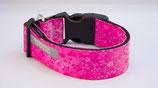 Halsband, Floral, Pink, Acetal