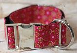 Halsband rosa Liebe, Metallverschluss